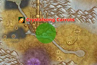Crystalsong Carrots