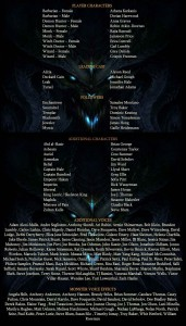 Diablo 3 Voice Actors