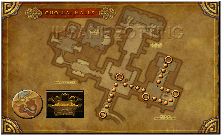 Guo-Lai Cache Map Golden Lotus Rep Farm