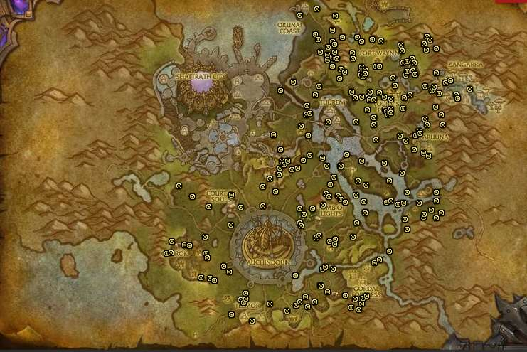 Warlords of Draenor Mining Guide 1-700